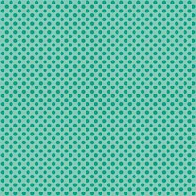 Andover - Novelty Christmas - Polka Dot in Teal