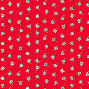 Andover Fabrics - Katie Jane Rose in Red