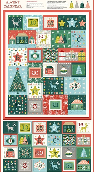 Makower UK Merry Advent Calender