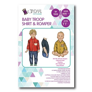 Tadah Patterns - Baby Troop Shirt & Romper