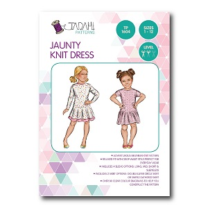 Tadah Patterns - Jaunty Dress