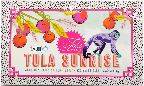 Aurifil Tula Pink Tula Sunrise Thread Collection Boxed Set