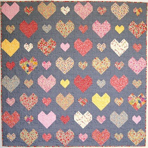 Tied With A Ribbon - Kiss Chasey Quilt Pattern