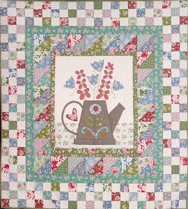 The Birdhouse - The Watering Can Quilt Kit