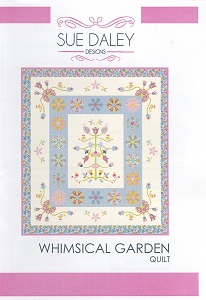 Sue Daley Designs - Whimsical Garden Quilt