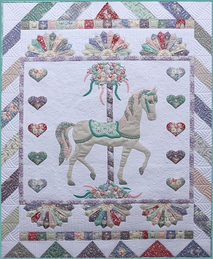 Petals and Patches Carousel Quilt Kit