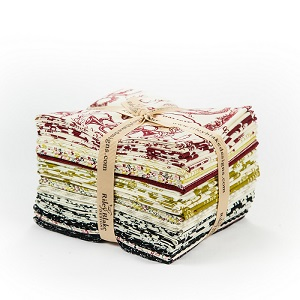 Riley Blake Designs - Lost & Found Christmas - Fat Quarter Bundle of 18 Pieces