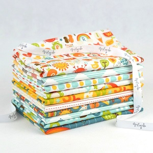 Riley Blake Designs - School Days Fat Quarter Bundle of 10 Pieces