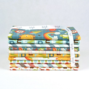 Riley Blake Designs - School Days Half Metre Bundle of 10 Pieces