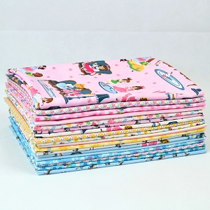 Penny Rose Fabrics - Petite Treat - Half Metre Bundle of 18 Pieces