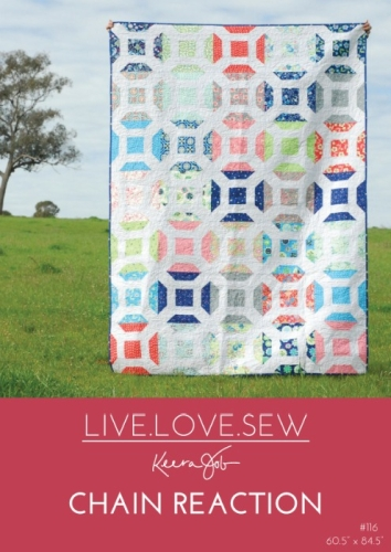 Live Love Sew by Keera Job - Chain Recation Quilt Pattern