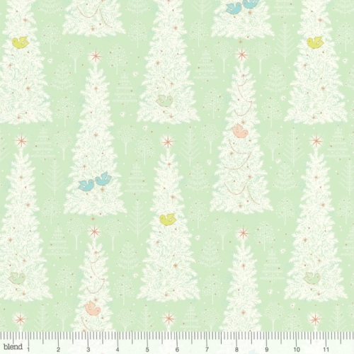 Blend Fabrics - Christmas Dear - Winter Flock Mint