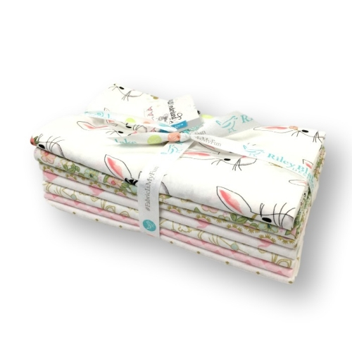 Riley Blake Designs - Wonderland 2 - 1 Yard Bundle in White