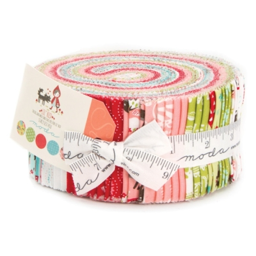 Moda - Lil Red - Jelly Roll Bundle of 42 Strips