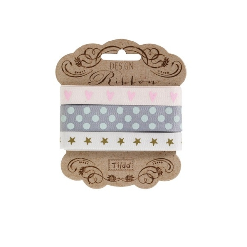 Tilda - Ribbon Set - Happiness is Homemade 3 x 2mt pack