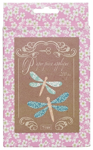 Tilda - Bumblebee - English Paper Piece Applique Papers - Dragonfly