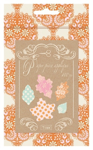 Tilda - Harvest - English Paper Piece Applique Papers - Leaves