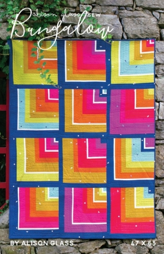 Alison Glass - Bungalow Quilt Pattern