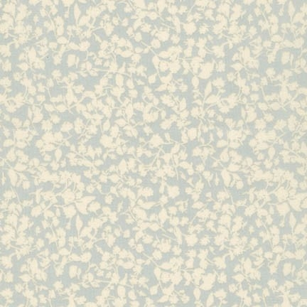 Robert Kaufman - Woodland Clearing Cotton Lawn Tiny Floral Grey