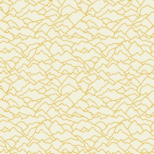 Dashwood Studio - Altitude Alps in Yellow