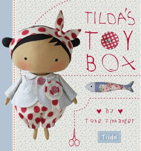 Tilda's Toy Box by Tone Finnanger - Hard Cover Book