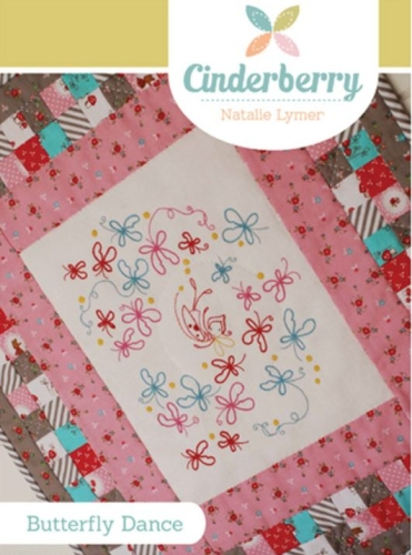 Cinderberry Stitches - The Butterfly Dance Mini Quilt Pattern