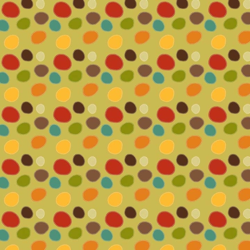 Riley Blake Designs - Giraffe Crossing - Dots in Green