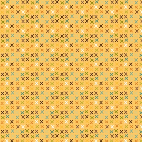 Riley Blake Designs - Giraffe Crossing - Tic-Tac in Yellow
