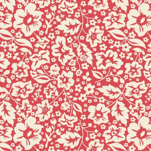 Riley Blake Designs - The Sweetest Thing Floral in Red