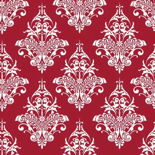 Riley Blake Designs - Remember Damask in Red