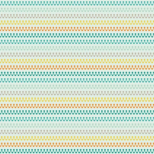 Riley Blake Designs - Boy Crazy Stripes in Teal