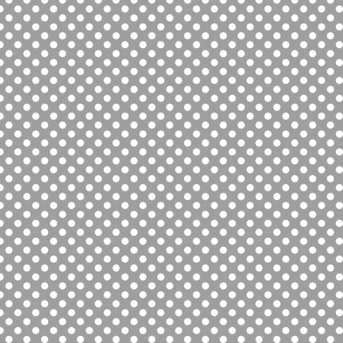 Riley Blake Designs - Small Dots / Spots in Grey