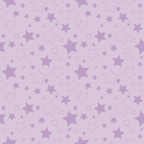 Riley Blake Designs - Cotton Stars Lavender