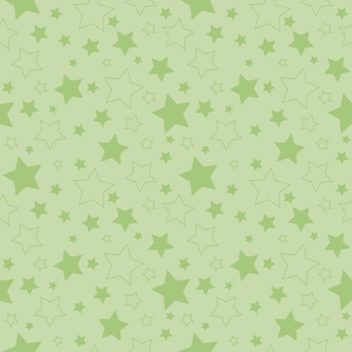 Riley Blake Designs - Cotton Stars Green