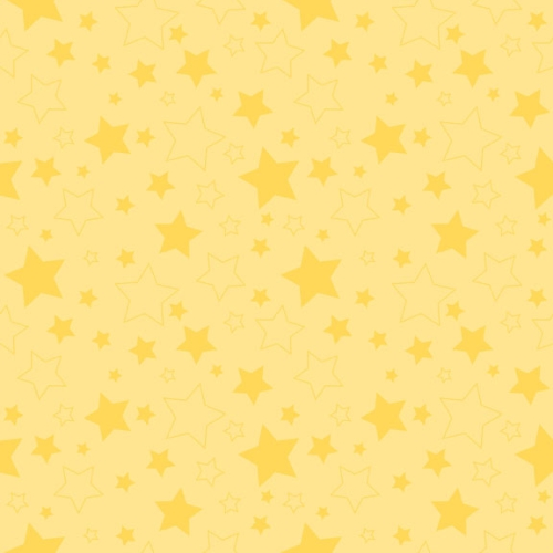 Riley Blake Designs - Cotton Stars Yellow