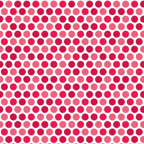 Riley Blake Designs - Santa Express Dots in Red