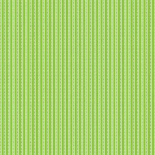 Riley Blake Designs - Santa Express Stripe in Green