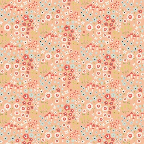 Riley Blake Designs - Woodland Spring Petal in Coral