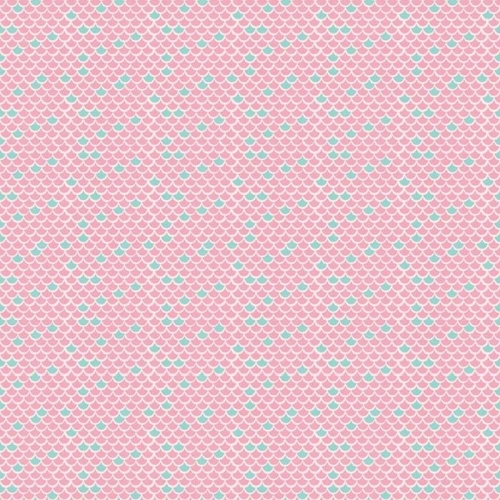 Riley Blake Designs - Lulabelle - Scallops in Pink