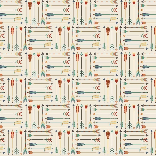 Riley Blake Designs - High Adventure - Arrow in Cream