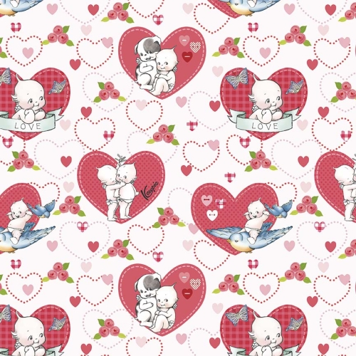 Riley Blake Designs - Kewpie Love Main Cream
