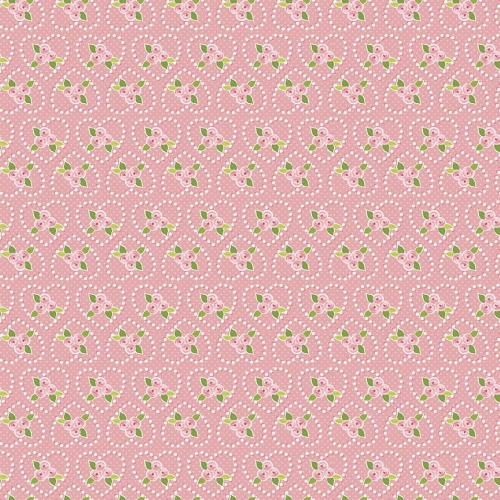 Riley Blake Designs - Kewpie Love Rose Pink