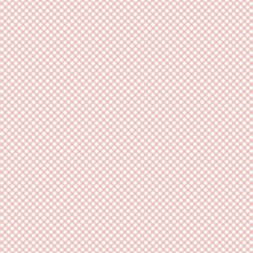 Penny Rose Fabrics - Bunnies and Cream Gingham Pink