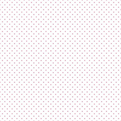 Riley Blake Designs - Swiss Dot Hot Pink on White