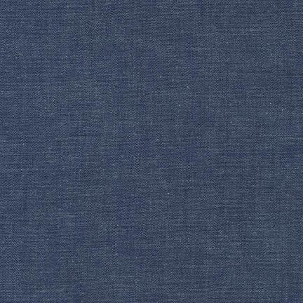 Robert Kaufman - Chambray Union Stretch 3.9 OZ - Extra Wide 125cm