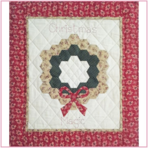 Sue Daley Designs - Christmas Magic Mini Quilt Pattern - Templates & Papers