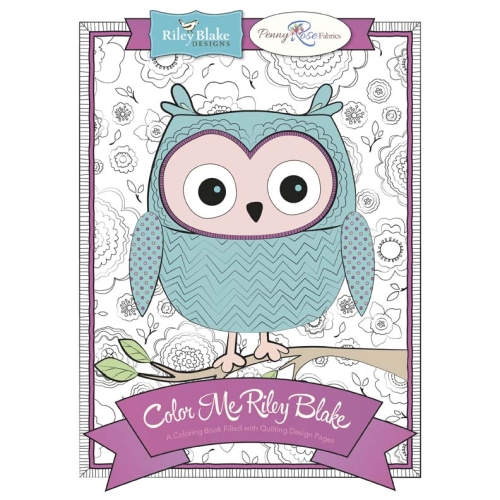 Colour Me Riley Blake Colouring Book - Softcover