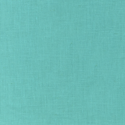 Robert Kaufman - Essex Linen/Cotton Blend -  Medium Aqua