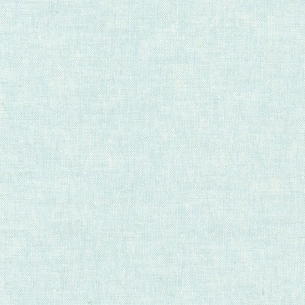 Robert Kaufman - Essex Yarn Dyed Linen/Cotton Blend - Aqua
