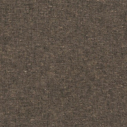 Robert Kaufman - Essex Yarn Dyed Linen/Cotton Blend - Espresso